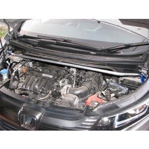 【KAWAI WORKS/カワイ製作所】フロント ストラットバー スタンダードタイプ STD-Type HONDA フリード/フリード +プラス GB7/8 ハイブリット車 [HN0990-FTS-00]|vigoras