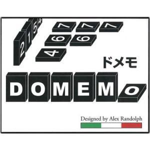 ドメモ DOMEMO 日本語版/ クロノス ボードゲーム 木製 数字 小学生