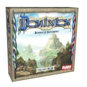 ドミニオンは、デッキ(自分の手札)を構築するゲームです。 ドミニオンとは、領土のこと。プレイヤーは中...