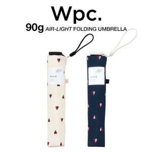Wpc 折りたたみ傘 超軽量 90g レディース エアライト ツインハート Air-light Umbrella w.p.c ワールドパーティー AL-006|villagestore