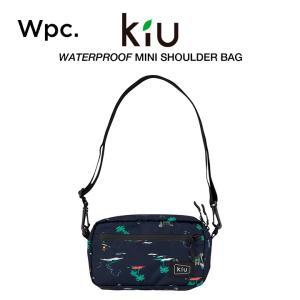 KiU ショルダーバッグ 撥水防水 軽量 ウォータープルーフミニショルダーバッグ リゾート w.p....