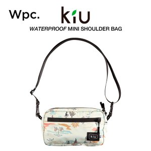 KiU ショルダーバッグ 撥水防水 軽量 ウォータープルーフミニショルダーバッグ ビーチ w.p.c...