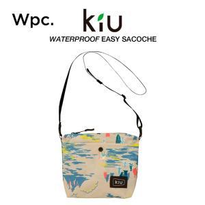 KiU サコッシュ ショルダーバッグ 折り畳みタイプ 軽量ミニ 撥水防水 イージーサコッシュ クライ...