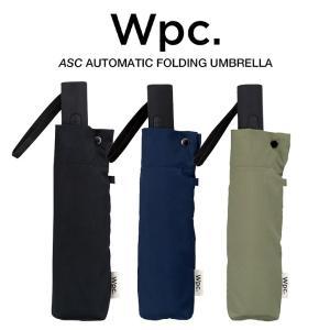 Wpc 折りたたみ傘 自動開閉 軽量 レディース メンズ 男女兼用 晴雨兼用傘 無地 UNISEX ASC Umbrella w.p.c ワールドパーティー MSJ|villagestore