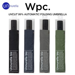 wpc/ワールドパーティーの自動開閉大きい58cmメンズ折りたたみ傘、アンヌレラ。最高水準の撥水力、...