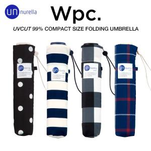 wpc/ワールドパーティーのおしゃれな日傘にもなる晴雨兼用超撥水レディース折りたたみ傘、アンヌレラ ...