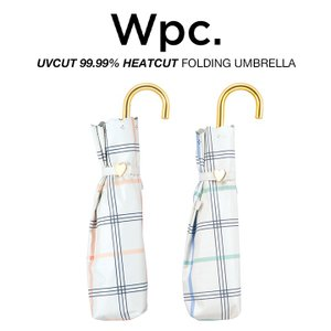 Wpc 日傘 折りたたみ傘 レディース 遮光遮熱 軽量 UVカット99.99% 遮光ガーリーチェック 晴雨兼用 PUコーティング  w.p.c ワールドパーティー 801-7798|villagestore