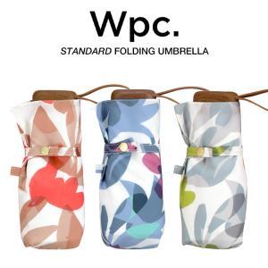Wpc 折りたたみ傘 軽量 レディース 晴雨兼用傘 ボタニカルガーデン ミニ スタンダード BOTANICAL GARDEN mini Wpc. ワールドパーティー 9604-291|villagestore