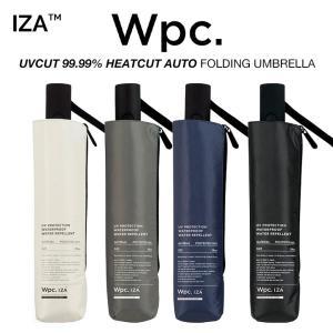 Wpc 日傘 折りたたみ傘 遮光 UVカット99.99% 遮熱 超撥水傘 IZA 自動開閉 ASC 無地 晴雨兼用 PUコーティング  Wpc. ワールドパーティー ZA001|villagestore