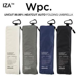 Wpc 日傘 折りたたみ傘 遮光 UVカット99.99% 遮熱 超撥水傘 IZA 軽量 8本骨 無地 晴雨兼用 PUコーティング  Wpc. ワールドパーティー ZA002|villagestore
