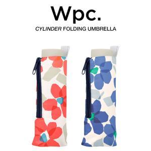Wpc 折りたたみ傘 軽量 レディース傘 晴雨兼用傘 ペルシッドフラワー PELLUCID FLOWER mini Umbrella Wpc. ワールドパーティー 9946-191|villagestore