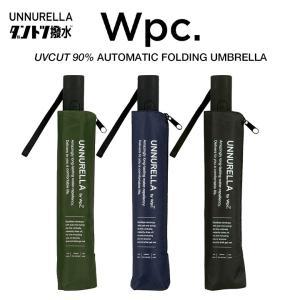 Wpc 折りたたみ傘 自動開閉 超撥水傘 大きい60cm レディース メンズ 男女兼用傘 晴雨兼用傘 UVカット90% アンヌレラ ASC 無地 Wpc. ワールドパーティー|villagestore