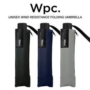 Wpc 折りたたみ傘 耐風傘 風に強い 大きい65cm傘 メンズ傘 無地 Wpc. ワールドパーティー UX003|villagestore
