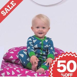 ベビー パジャマ ロンパース 赤ちゃん おしゃれ 子供服 北欧 紙飛行機 ルームウェア 75cm 80cm 90cm 1歳 2歳 青 ピンク 緑 50%OFF|villervalla