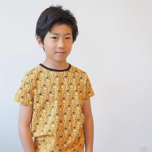 acff47b612a45 半袖Tシャツ アニマル柄 トラ フラミンゴ サメ シマウマ オーガニックコットン