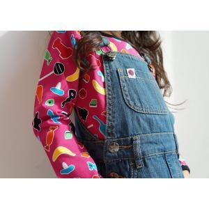 長袖Tシャツ キャンディCANDY 子供服 ブルー/ピンク|villervalla|03