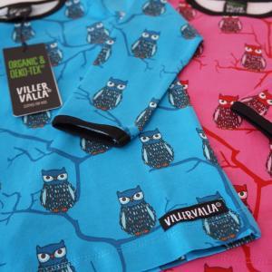 長袖Tシャツ フクロウTREE OWL 子供服 ブルー/ピンク 20%OFF|villervalla|03