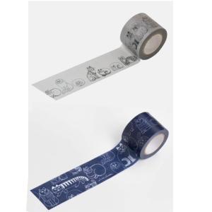 リサラーソン マスキングテープ スケッチねこたち 文具 マステ テープ 北欧 猫 ネコ|villervalla