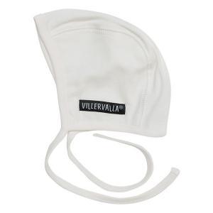 ベビー帽子 キャップ白 新生児 ギフト 出産祝い 北欧子供服|villervalla