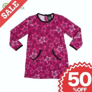 【50%OFF】ワンピース 星柄 ピンク CAMO STAR 女の子 ドレス 子供服|villervalla