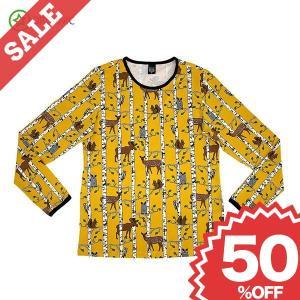 Tシャツ 長袖 レディース メンズ 大人用 北欧 親子コーデ おしゃれ お揃い|villervalla