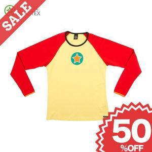 長袖Tシャツ 黄色/赤 LEMONADE/STRAWBERRY 子供服|villervalla