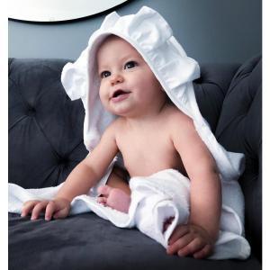 フリルフード付きタオル オーガニックコットン 北欧 ベビー 出産祝い 新生児 NGbaby|villervalla
