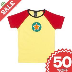 北欧 子供服 Tシャツ 半袖 星 黄色/赤 LEMONADE/STRAWBERRY|villervalla