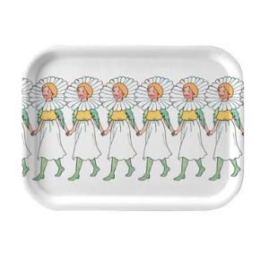 北欧雑貨 トレイ 皿  マーガレット Marguerite お盆 妖精 エルサベスコフ 食器|villervalla
