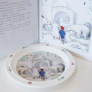 幼児用食器 3点セット  Olle ウッレのスキー旅行  出産祝い ベビーギフト エルサベスコフ|villervalla|03