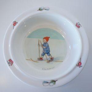幼児用食器 3点セット  Olle ウッレのスキー旅行  出産祝い ベビーギフト エルサベスコフ|villervalla|05