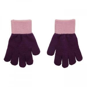 北欧 子供服 手袋 グローブ ニット 青 紫 4〜7歳用 8〜12歳用|villervalla
