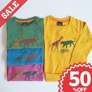 Tシャツ 子供服 スウェットシャツ キッズ 北欧 ベビー 赤ちゃん 動物柄|villervalla
