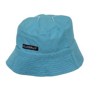 ハット 帽子 キッズ 子供 UVカット 青 水色 ピンク 46-56cm 1歳-12歳|villervalla