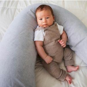 北欧 授乳クッション 赤ちゃんお座りサポート 育児 スウェーデン製 麻 リネン100% ブルー ライトグレー ピンク NGbaby MOOD|villervalla