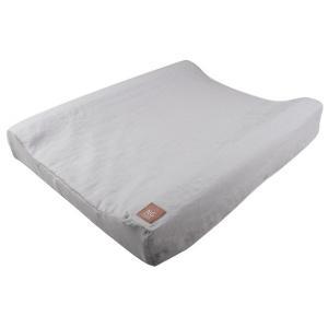オムツ交換マット MOOD NGbaby  育児 ベビー用品 洗える スウェーデン製 麻 リネン100%  ブルー ライトグレー ピンク|villervalla
