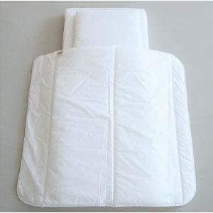 ゆりかご用 マットレス・枕・布団 3点セット 北欧 ベビー寝具 スウェーデン製 チリダニアレルギー防止 NGbaby PURE|villervalla
