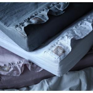 オムツ交換マット MOOD RUFFLES フリル 出産祝い 育児 ベビー用品 洗える スウェーデン製 麻 リネン100%  NGbaby|villervalla