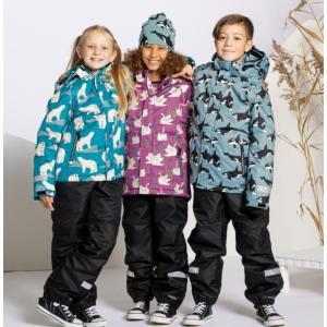 スキーパンツ スキーウェア  黒 防水 撥水 キッズ 子供服 スノボー 耐水圧8000|villervalla