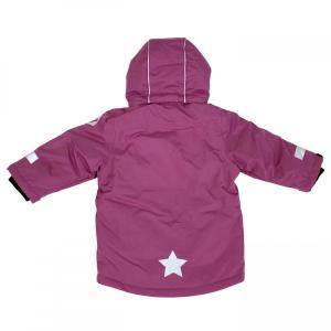 キッズ スキーウェア 防水ウインタージャケット 全4色 青 紫 黄色 黒|villervalla|12