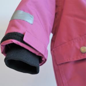 キッズ スキーウェア 防水ウインタージャケット 全4色 青 紫 黄色 黒|villervalla|07