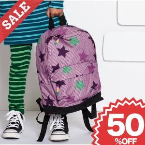 北欧 子供服 リュックサック バックパック 星柄 撥水加工 青 紫 グレー|villervalla