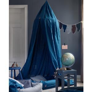 北欧 ベビー寝具 キャノピー 天蓋 子供部屋 スウェーデン製 麻 リネン100% ブルー ライトグレー ピンク NGbaby MOOD|villervalla|06