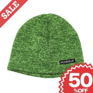 帽子 キャップ 暖かいパイルフリース素材 緑/グレー|villervalla