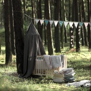 北欧 ベビー寝具 ガーランド 子供部屋 スウェーデン製 オーガニックコットン NGbaby W&F|villervalla|04