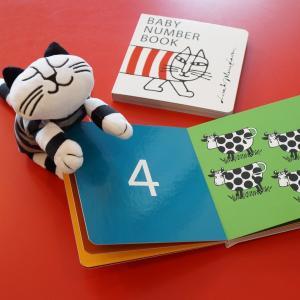 リサ・ラーソン Baby Number Book  数字の絵本 幼児 絵本 知育絵本 2歳 英語 E...