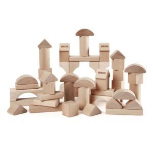 北欧 BRIO ブリオ おもちゃ つみき 50ピース 木製 ギフト|villervalla
