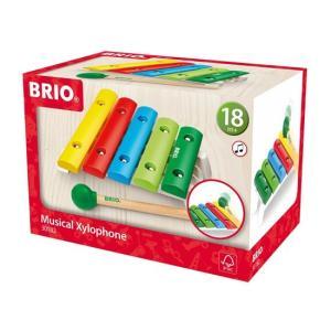 北欧 BRIO ブリオ おもちゃ 木琴 もっきん 木製 ギフト|villervalla