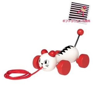 北欧 BRIO ブリオ おもちゃ ネコ キャット 木製 ギフト|villervalla