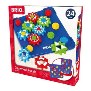 北欧 BRIO ブリオ おもちゃ 歯車パズル 知育玩具 ギフト|villervalla